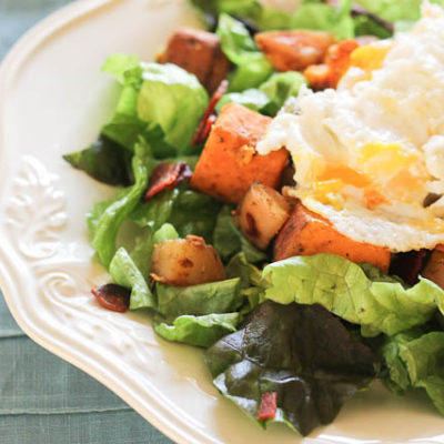 Warm Breakfast Salad