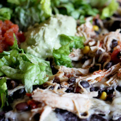 Easy Crockpot Nachos
