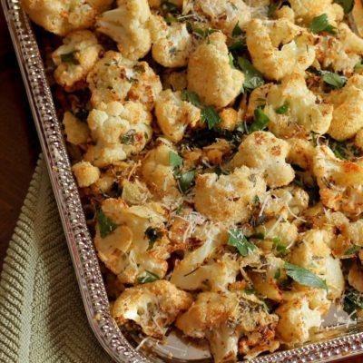 Gluten-Free Crispy Cauliflower
