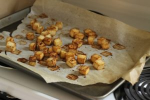 How to Roast Crispy Tofu