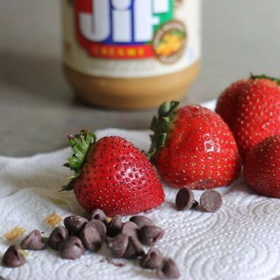 Peanut Butter Strawberries