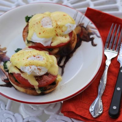 {recipe redux} Eggs Benedict for Two