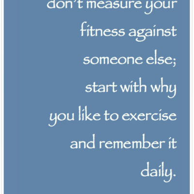 How to stay consistent with exercise