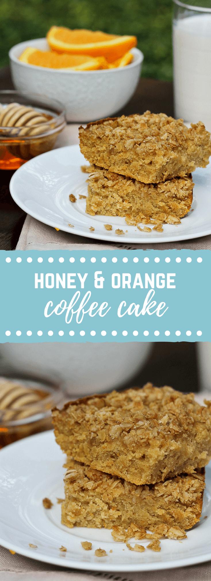 This Honey Orange Gluten Free Coffee Cake rivals any coffee shop coffee cake! Happy baking, honey.
