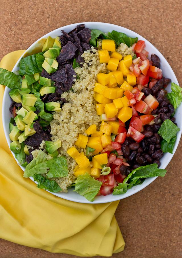 Quinoa Taco Salad - love & zest