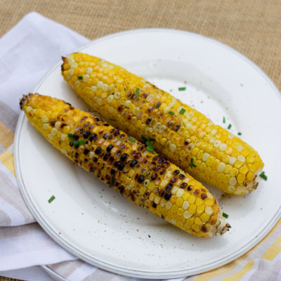 Grilled Corn on the Cob + Win 2 Free Tix to Taste of the Nation