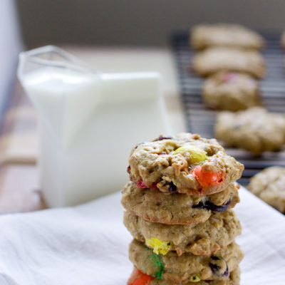 Monster Trail Mix Cookies