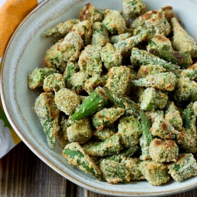 "Oven ""Fried"" Okra"