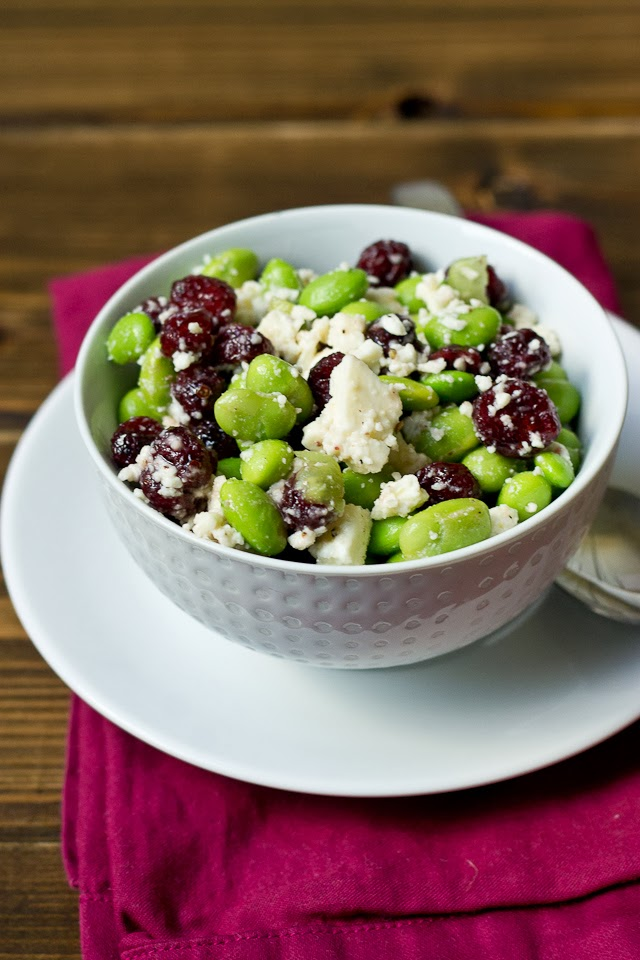recipe: eggnog and cranberry salad [35]