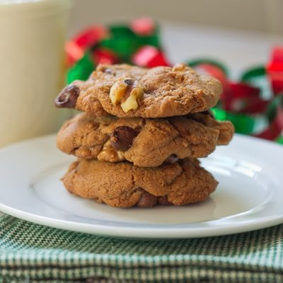 Chocolate Peanut Butter Rocky Road Cookies