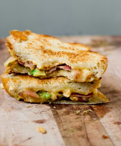 Chipotle Bacon Avocado Grilled Cheese