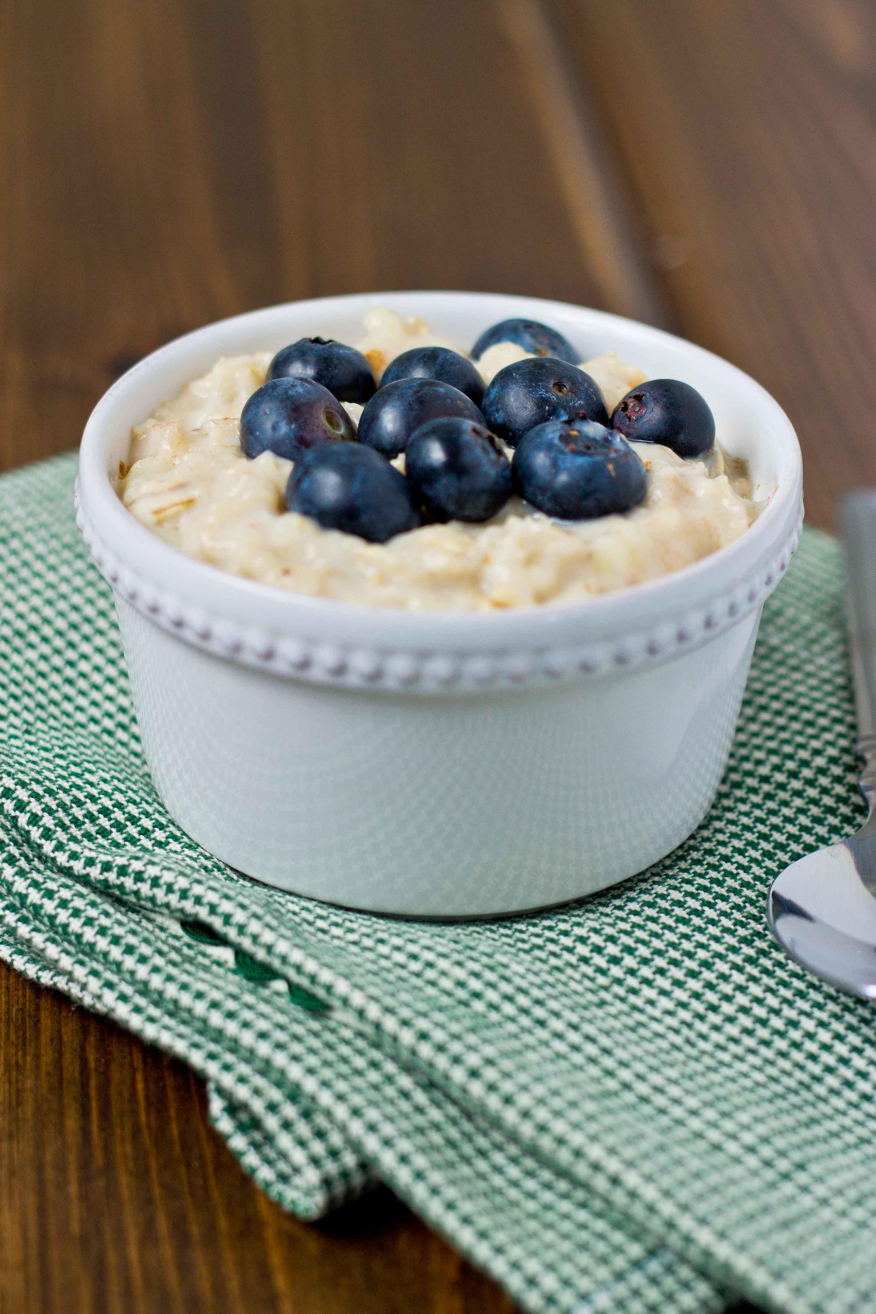 High Protein Oatmeal | love & zest