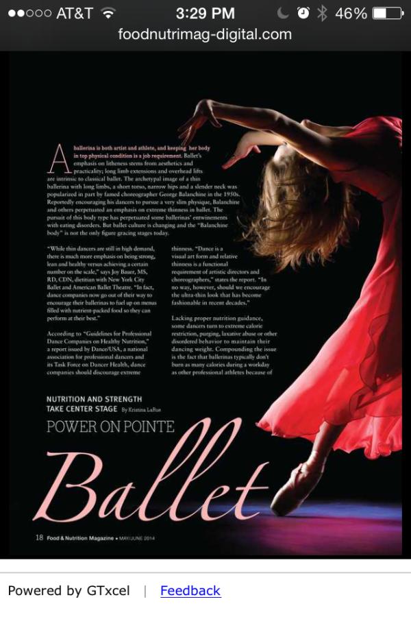 Ballet Article
