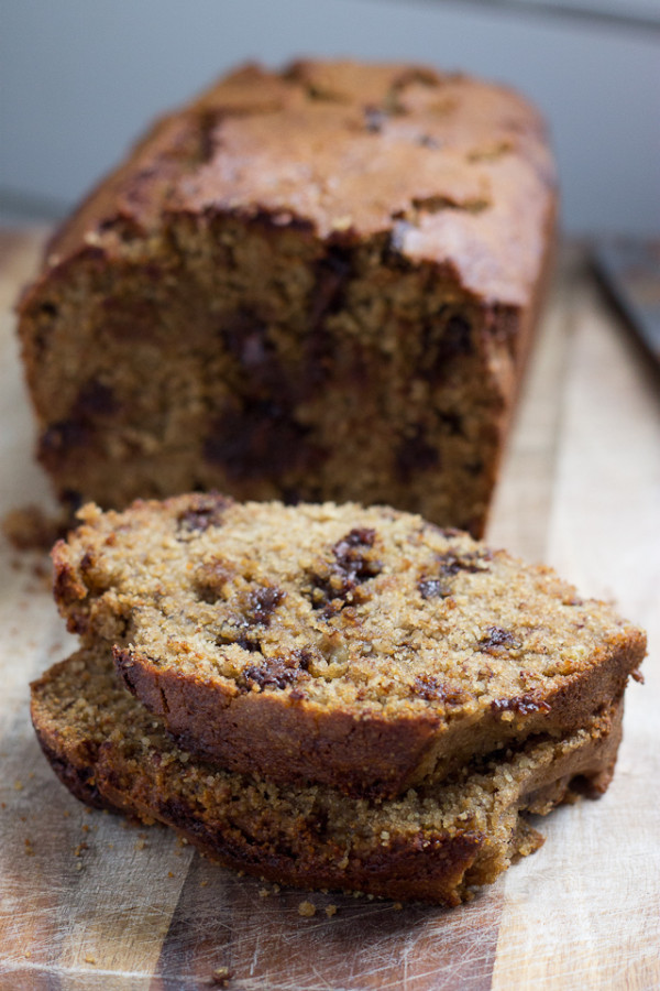 Gluten Free Chocolate Chip Banana Bread-6322