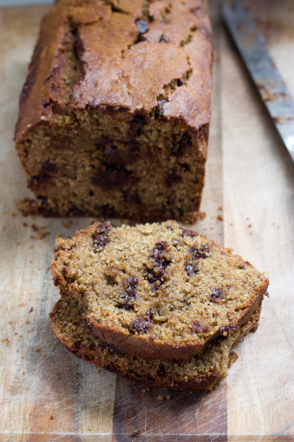 Gluten Free Chocolate Chip Banana Bread-6323
