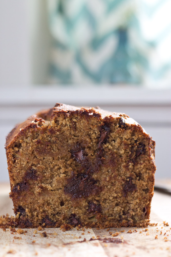 Gluten Free Chocolate Chip Banana Bread-6352
