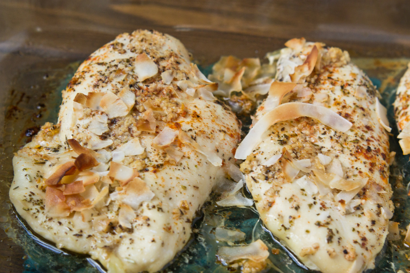Baked Coconut Chicken-6842