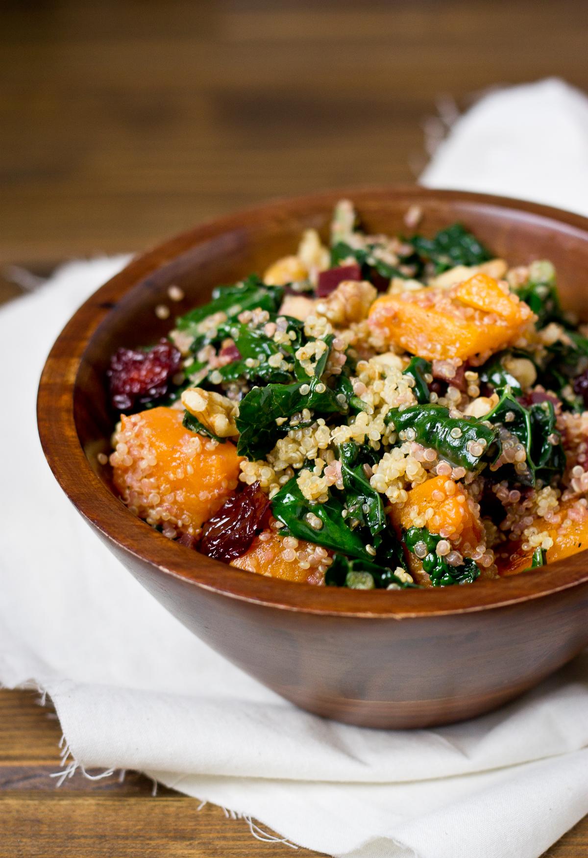 Butternut, Beet, & Quinoa Salad-7052