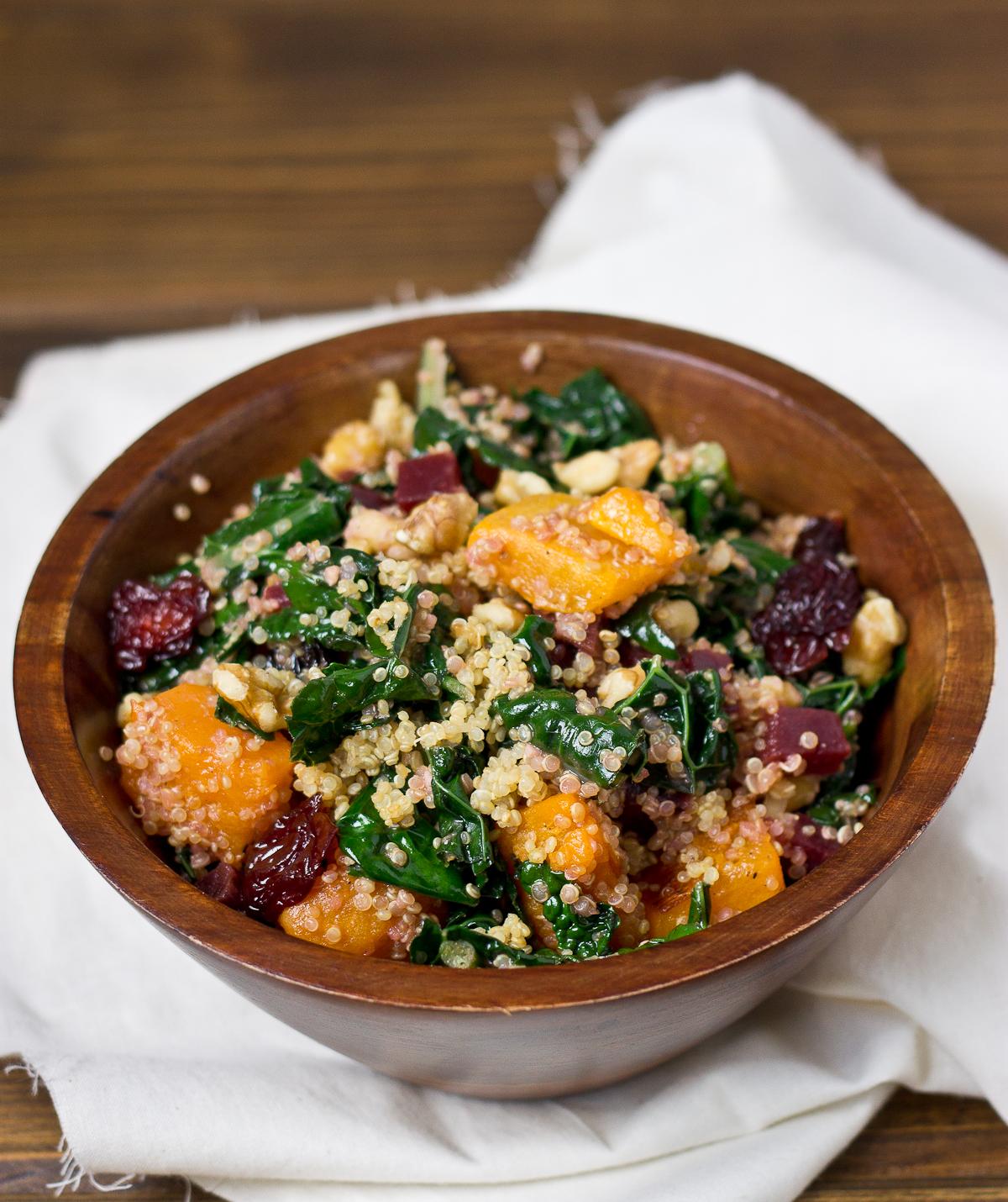 Butternut, Beet, & Quinoa Salad-7053