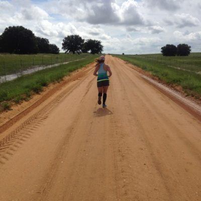 We ran the 10 mile Clay Loop