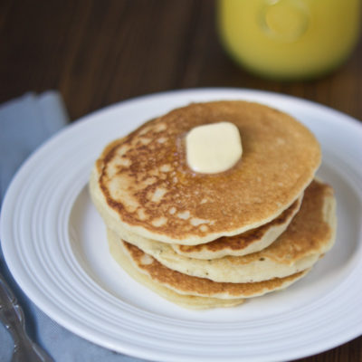 Best Pancakes Ever, Seriously {Gluten Free Buttermilk Pancakes}