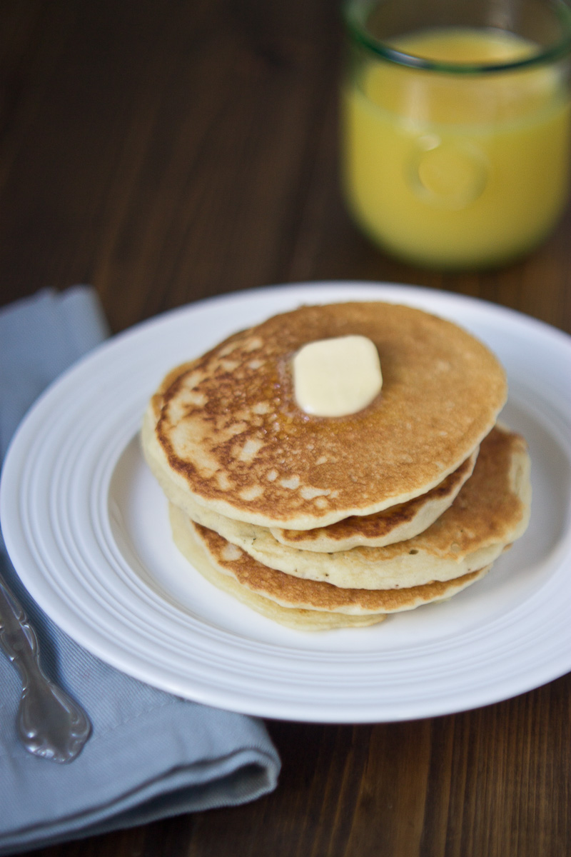 Gluten Free Buttermilk Pancakes The Best Pancakes Ever Love Zest