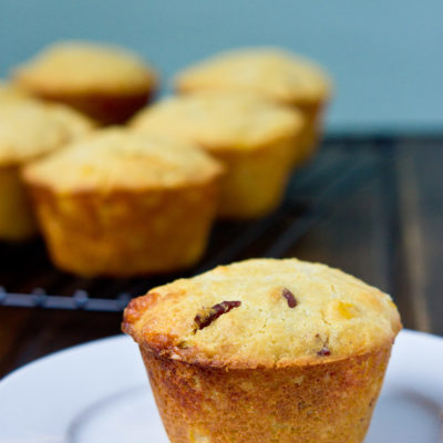 Southern Cheddar Corn Muffins
