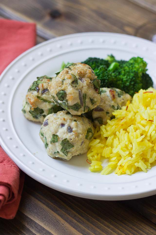 Spinach & Turkey Meatballs-7446
