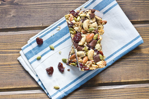 Tart Cherry, Dark Chocolate & Cashew Granola Bars. These snack bars ...
