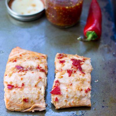 Sweet Chili Thai Salmon