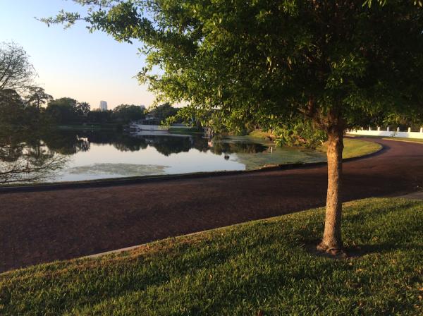 College Park Orlando Florida Lake Ivanhoe