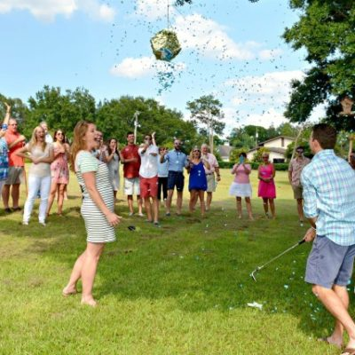 Piñata Gender Reveal Party: The Details