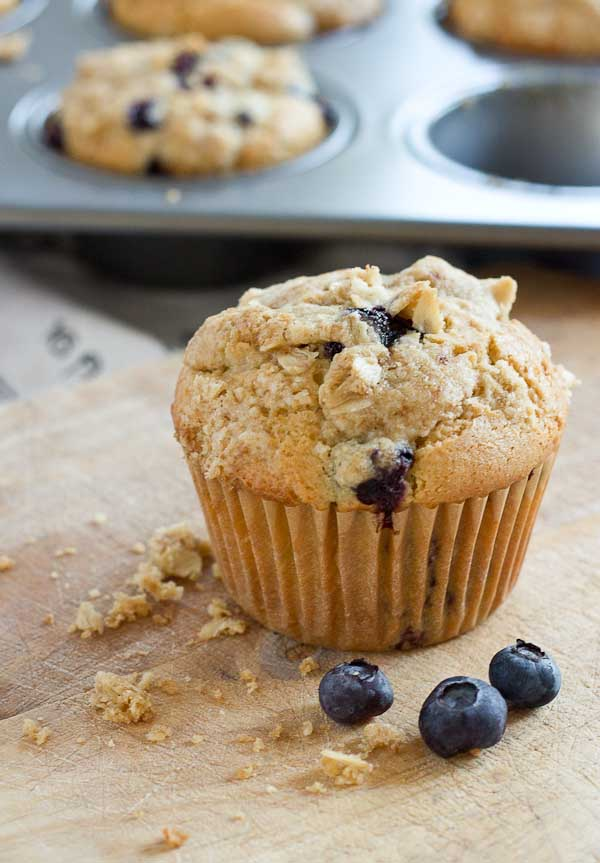 blueberry cheesecake muffins with oatmeal streusel love zest rh loveandzest com cottage cheese muffins low carb cottage cheese muffins jewish