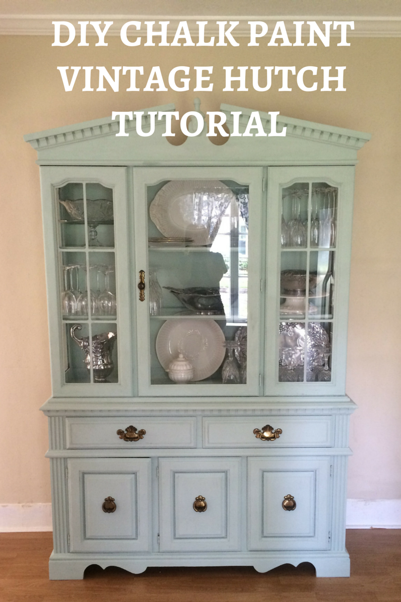 Chalk Paint Grey Kitchen Cabinets