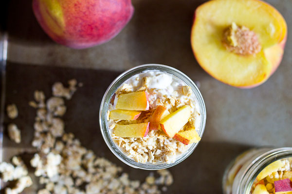 These fresh parfaits are bursting with the season's finest: peaches. Make these Peach Parfaits in advance for a quick weekday breakfast or snack.