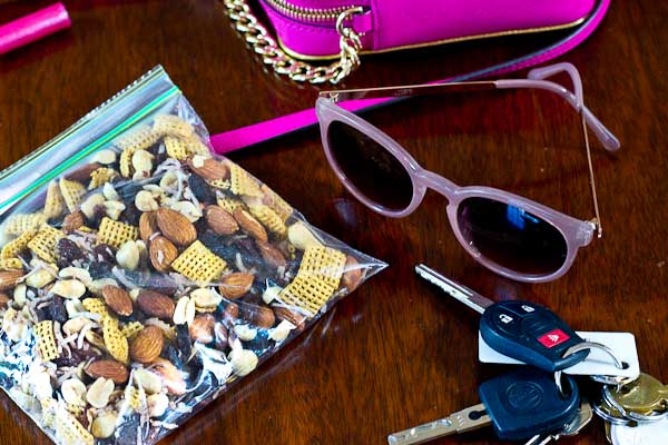 This yummy Sweet & Salty Trail Mix is easy to prepare and makes a quick and convenient snack. Packing healthy snacks is key to staying fueled while traveling and on the go.