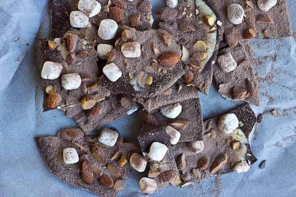 Hot Cocoa Almond Bark-9