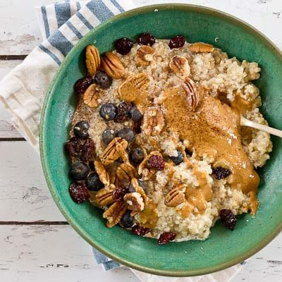 Ancient Grains Oatmeal Bowl