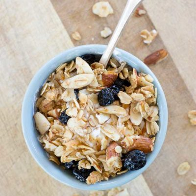 Blueberry Muffin Granola