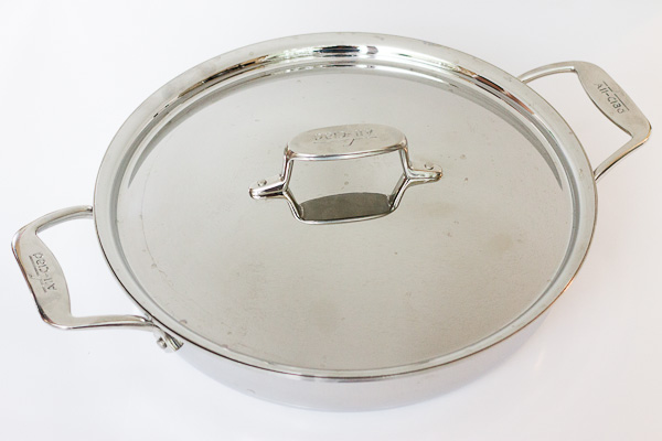 All Clad 5d Stainless Steel All In One Pan Giveaway