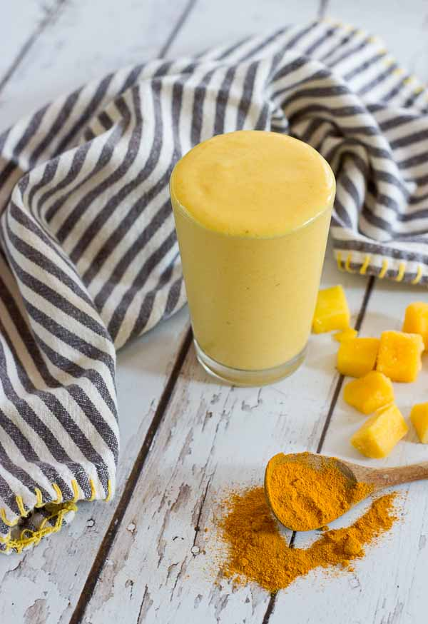 Golden milk turmeric smoothie love zest recipe this golden milk turmeric smoothie makes you feel good from the inside out ccuart Choice Image