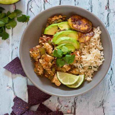 Vegetarian Sofritas Burrito Bowls