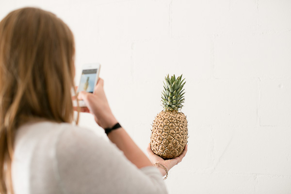 Because DIY golden pineapples are the BEST!