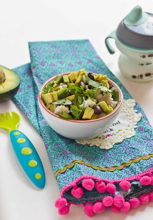 Vegetarian Baby Burrito Bowls Gluten Free Baby Food Recipe