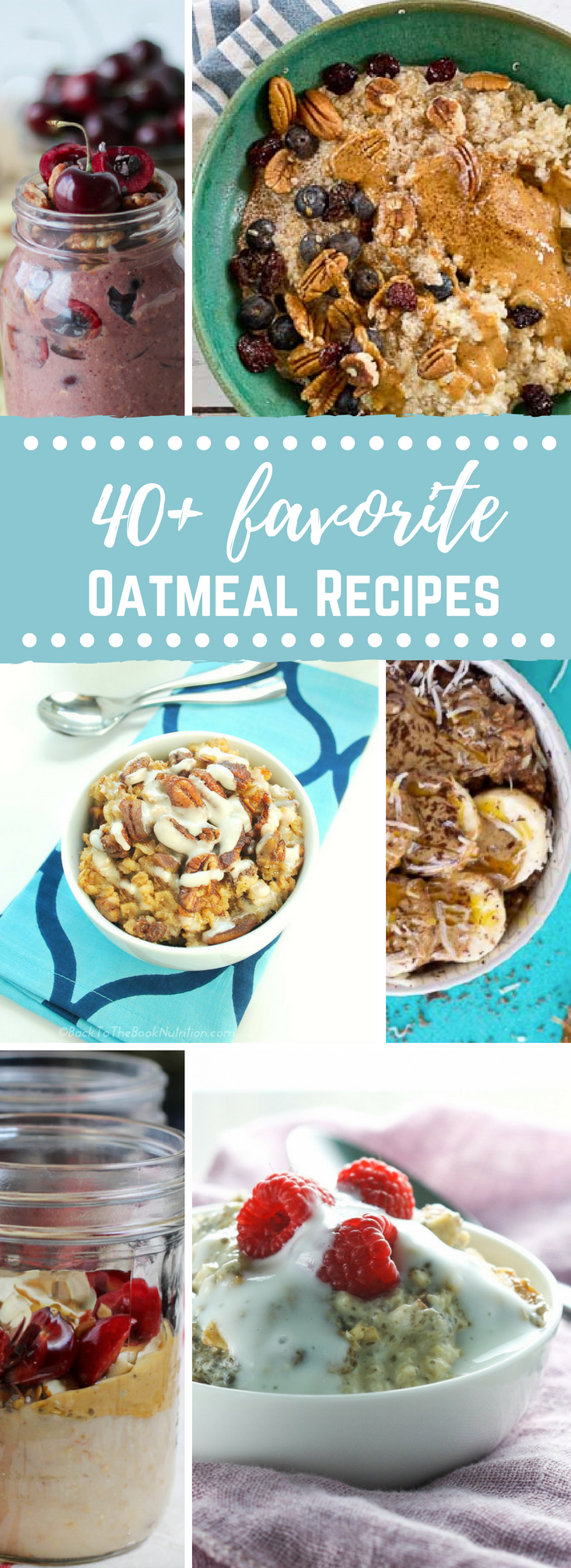 Looking for a yummy oatmeal breakfast?? Give one of these 40 plus favorite oatmeal recipes a try!