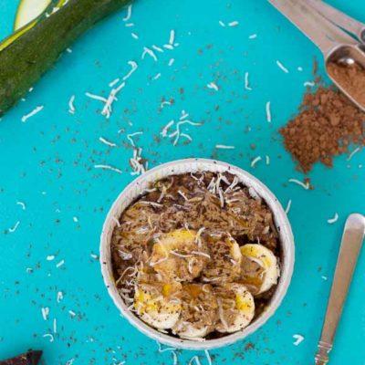 Chocolate Zoats | Chocolate Zucchini Oatmeal Recipe