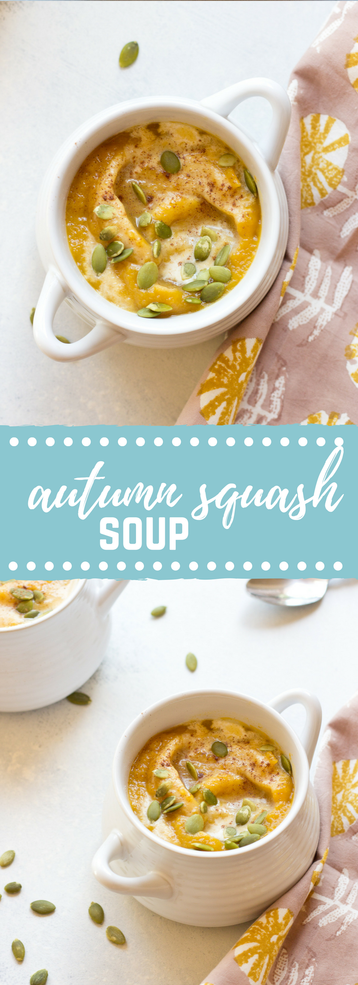 Vegan Autumn Glow Soup is a seasonal favorite and my personal health elixir. The flavors of this soup are just what you need on a chilly day.