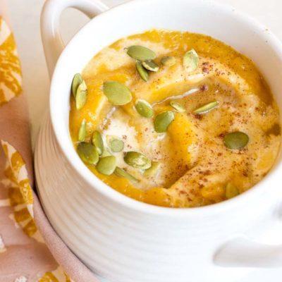 Vegan Autumn Glow Soup