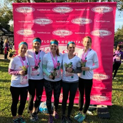 Lady Track Shack 5K Cabot Fit Team Race Recap 2017