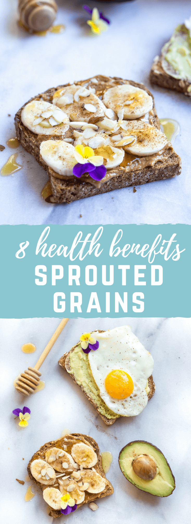 What Are Sprouted Grains? Health Benefits of Sprouted Grains explained. Sprouting unlocks nutrients in 3 easy steps, making them easier to digest!